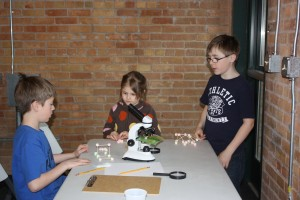 microscope activity from our Nano Science program.